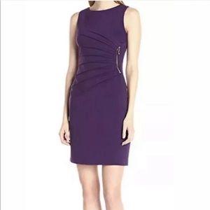 Ivanka Trump   Eggplant Dress